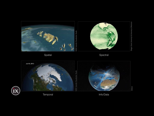 "Planetary data visualizations make the invisible visible. ""The economy, we are discovering, is a wholly owned subsidiary of the planet's biosphere, and not the other way around."" — David McConville"
