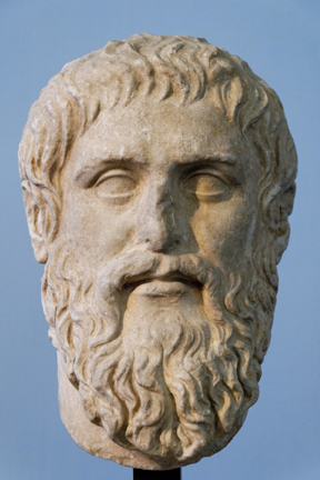 Bust of Plato, after the original by Silanion.